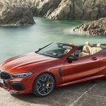BMW M8 Competition Cabrio perfil