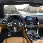 BMW M8 Competition Cabrio interior