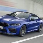 BMW M8 Competition Coupé dinámica