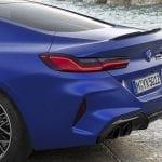 BMW M8 Competition Coupé detalle trasero