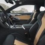 BMW M8 Competition Coupé asientos delanteros