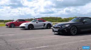 BMW Z4, Audi TTS y Porsche Boxster