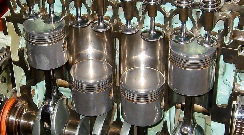 Quema de aceite en las cámaras de combustión