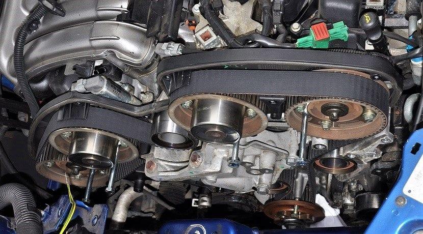 Tipos de distribución de un motor