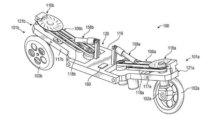 Moto robótica patentada por Facebook