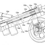 Detalle mecanismo moto robótica eléctrica