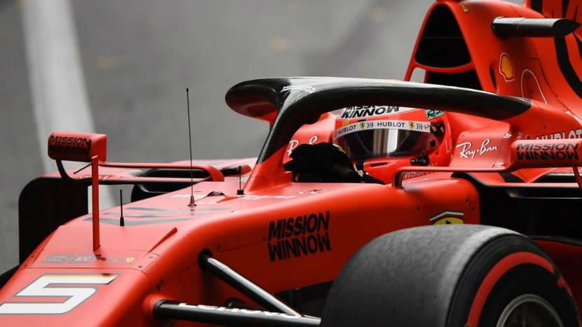 Ferrari de Vettel F1 2019