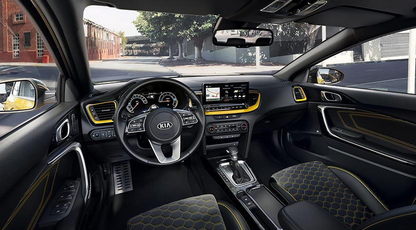 Kia XCeed interior