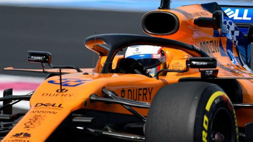 McLaren MCL34 de Sainz