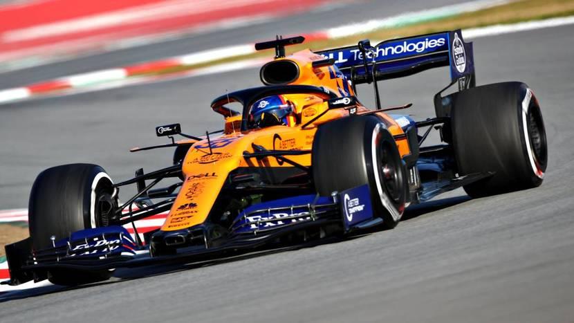 McLaren de Sainz 2019
