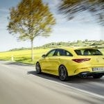 Mercedes-AMG CLA 35 Shooting Brake dinámica trasera