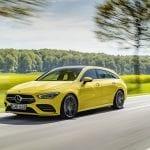 Mercedes-AMG CLA 35 Shooting Brake perfil delantero dinámica