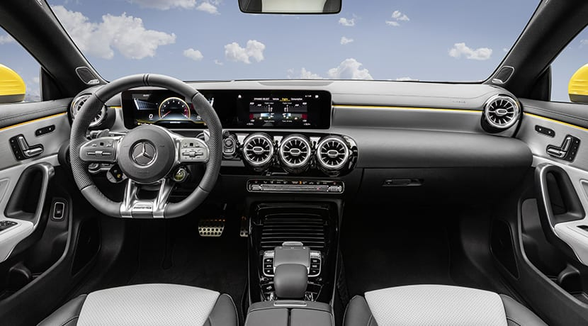 Mercedes-AMG CLA 35 Shooting Brake interior