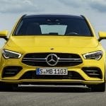 Mercedes-AMG CLA 35 Shooting Brake frontal