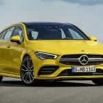 Mercedes-AMG CLA 35 Shooting Brake perfil delantero
