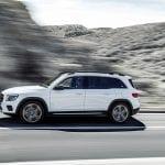 Mercedes GLB dinámica lateral