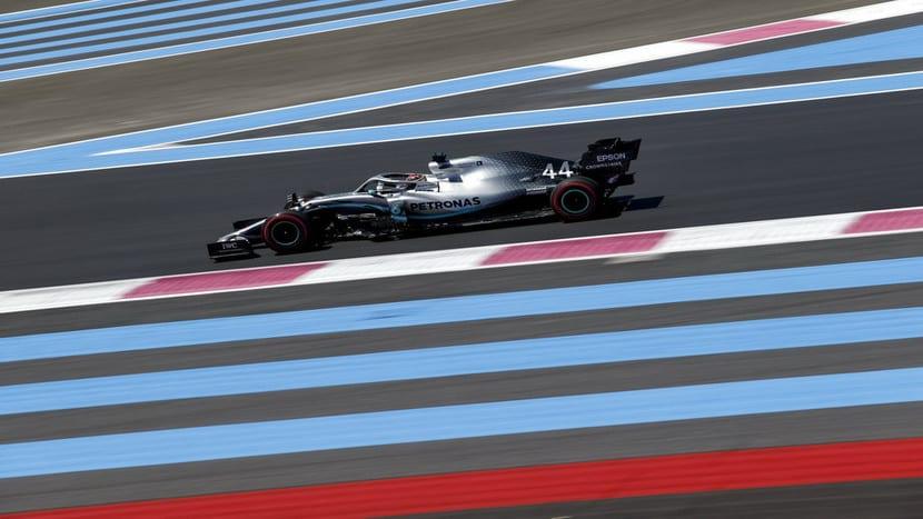 Mercedes en el GP de Francia 2019