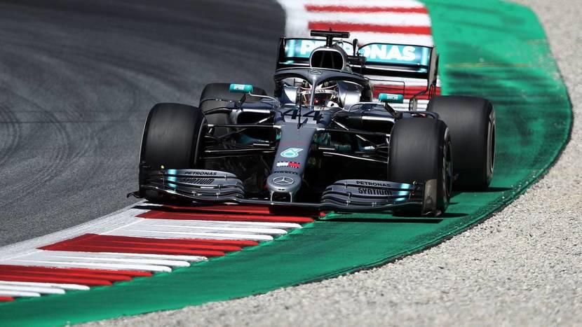 Mercedes en el GP de Austria 2019