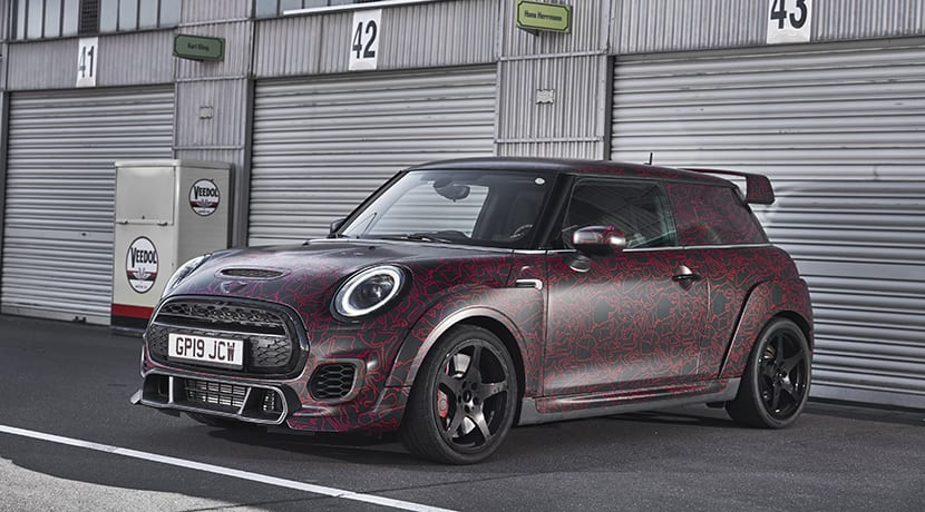 MINI John Cooper Works GP perfil