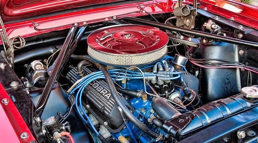 Ciclo térmico de un motor de cuatro tiempos
