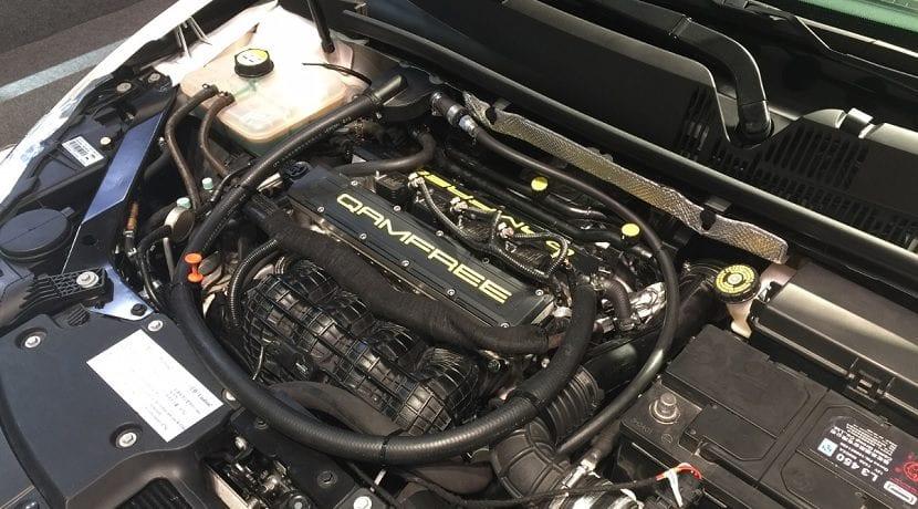 Motor sin distribución mecánica