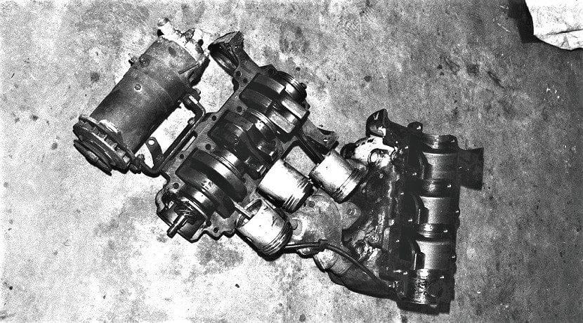 Partes de un motor de dos tiempos