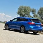 Prueba Ford Focus familiar perfil posterior