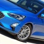 Prueba Ford Focus familiar detalle faros