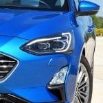 Prueba Ford Focus Sportbreak detalle faros