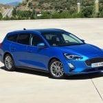 Prueba Ford Focus Sportbreak de perfil