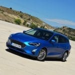 Prueba Ford Focus Sportbreak diésel perfil delantero