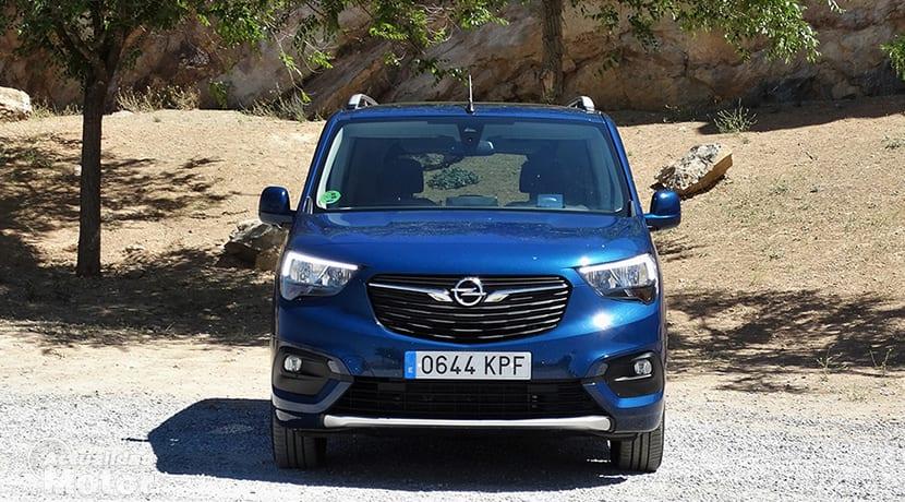 Prueba Opel Combo frontal
