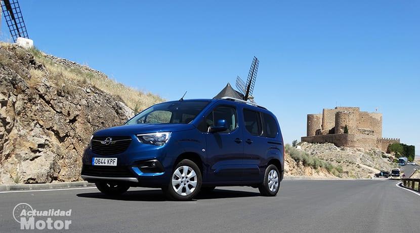 Prueba Opel Combo Life perfil delantero