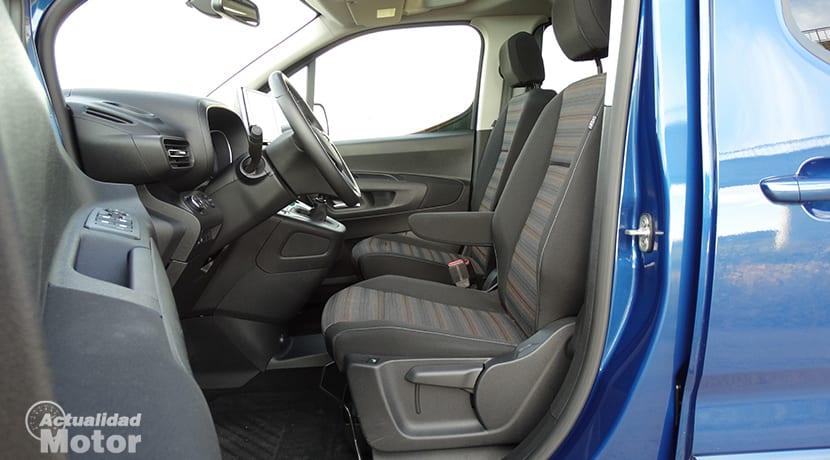 Prueba Opel Combo Innovation plazas delanteras