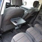 Prueba Opel Combo Life plazas traseras con mesita plegable