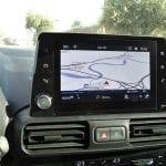 Prueba Opel Combo Life pantalla 8 pulgadas