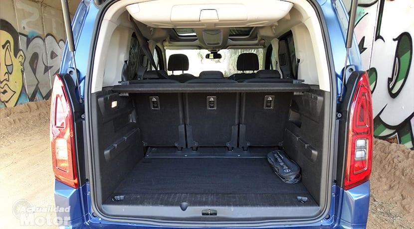 Prueba Opel Combo maletero