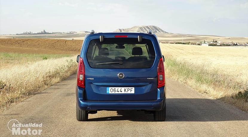 Prueba Opel Combo Life 1.5 TD 130 CV trasera