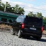 Prueba Peugeot Traveller VIP 180 parte trasera