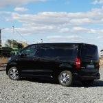 Prueba Peugeot Traveller VIP 180 lateral trasera