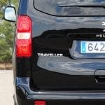 Prueba Peugeot Traveller VIP 180 detalle inscripción