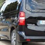Prueba Peugeot Traveller detalle trasero