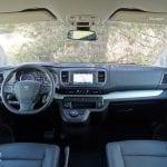 Prueba Peugeot Traveller diseño salpicadero