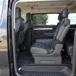 Prueba Peugeot Traveller segunda fila de asientos