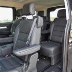 Prueba Peugeot Traveller VIP asientos traseros