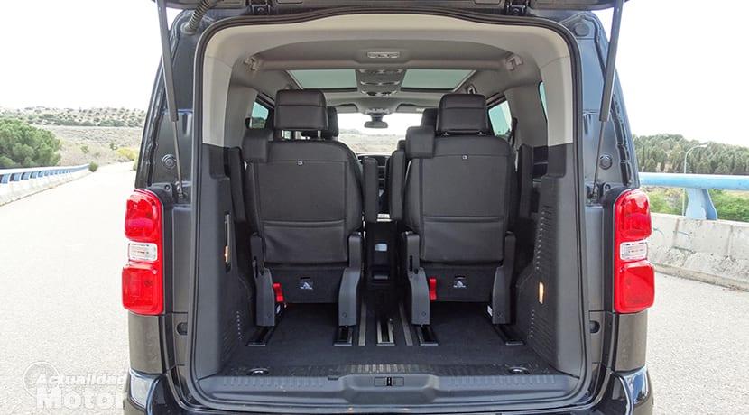 Peugeot Traveller maletero