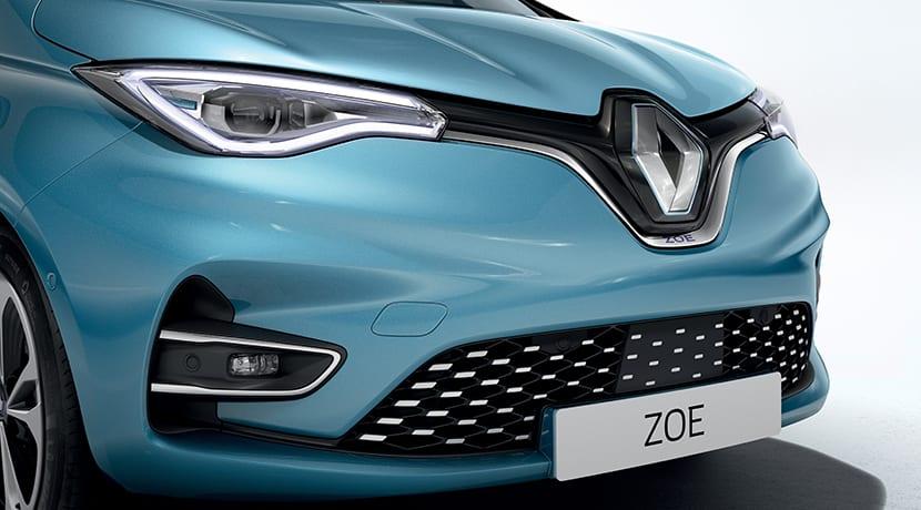 Renault Zoe detalle frontal