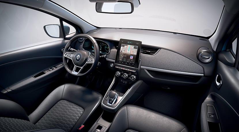 Renault Zoe interior