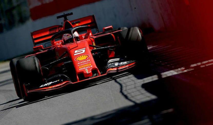 Vettel en Canadá 2019