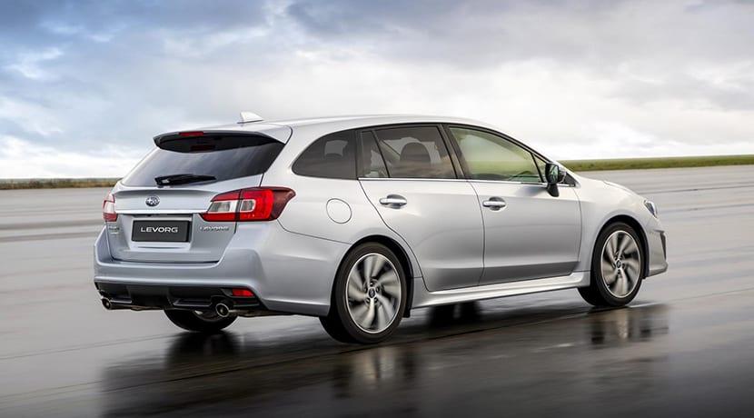 Subaru Levorg trasera